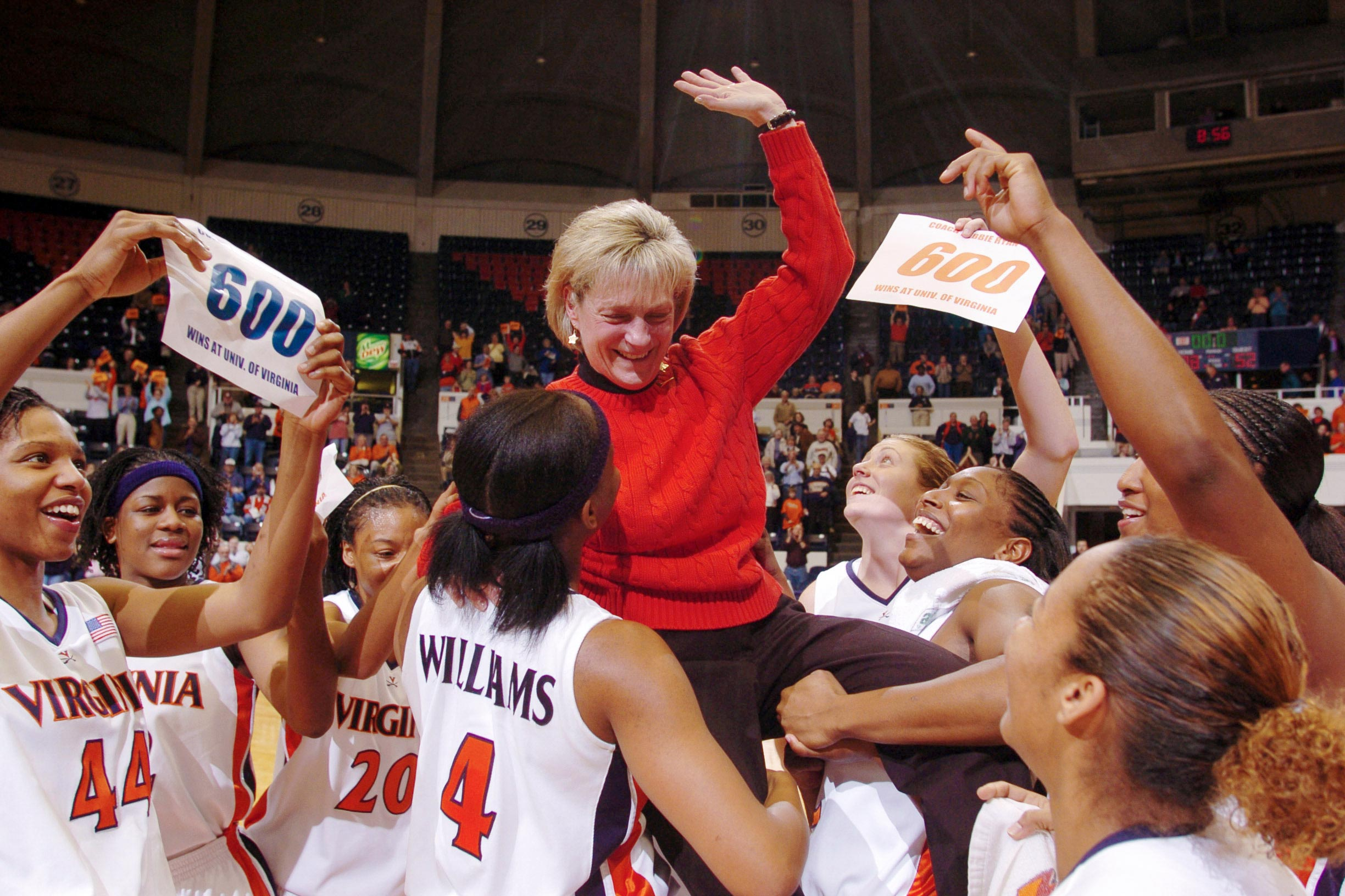 Debbie Ryan ended her UVA coaching career with more than 700 wins, and now trains her talents on improving the health of the local community.