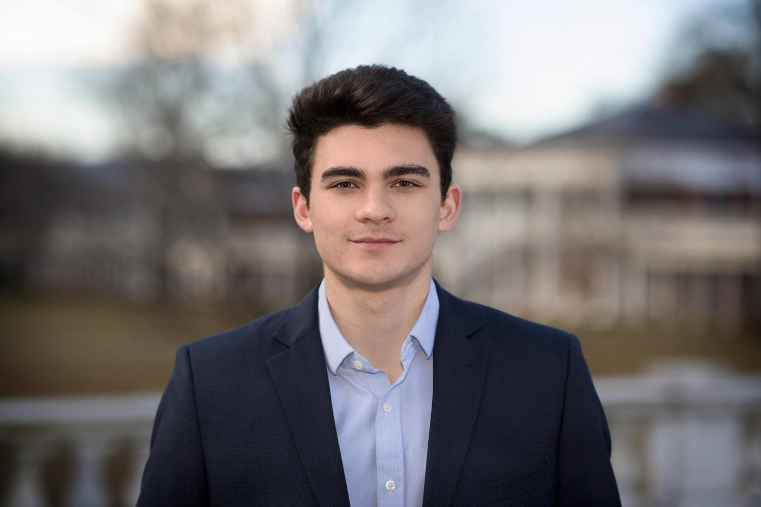 Dominic Pinnisi, a second-year student, is double majoring in aerospace engineering and physics.