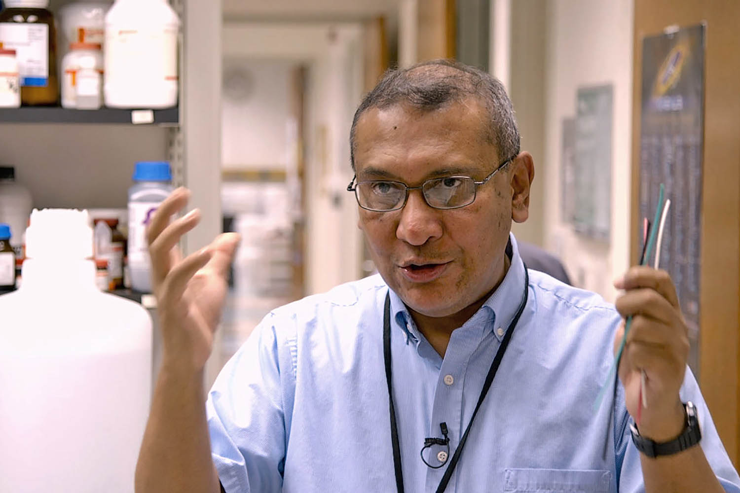 Dr. Anindya Dutta and his team made the discovery while investigating a previously discovered gene his that plays an important role in repairing damaged DNA.