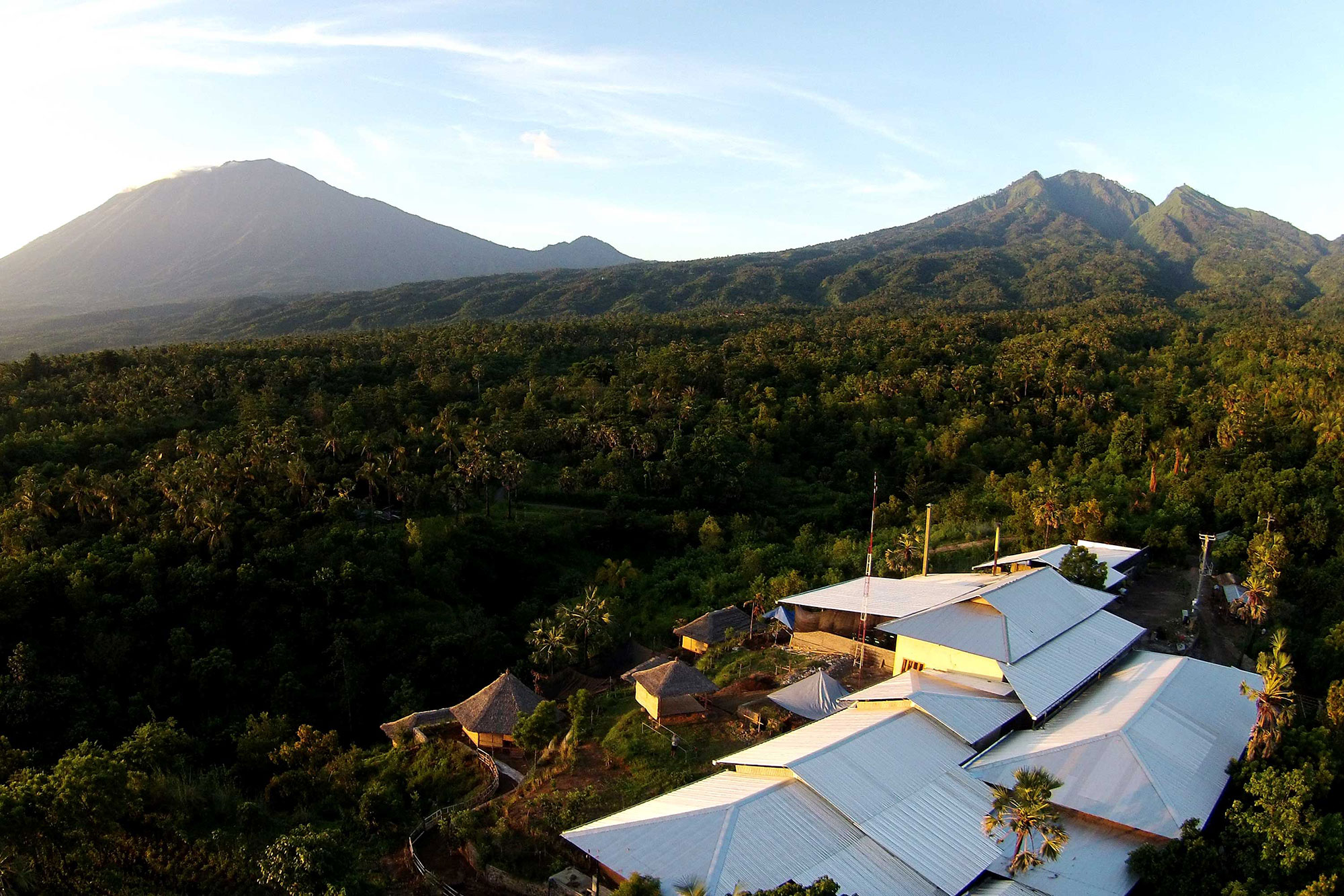 The factory, in eastern Bali, employs residents from a collection of villages called Desa Ban.