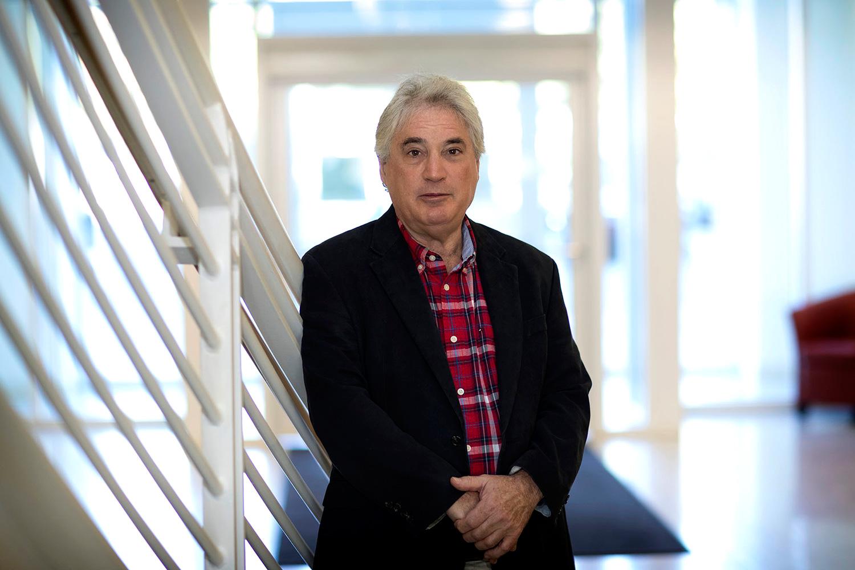 Biochemist Edward H. Egelman (Photo by Dan Addison, University Communications)