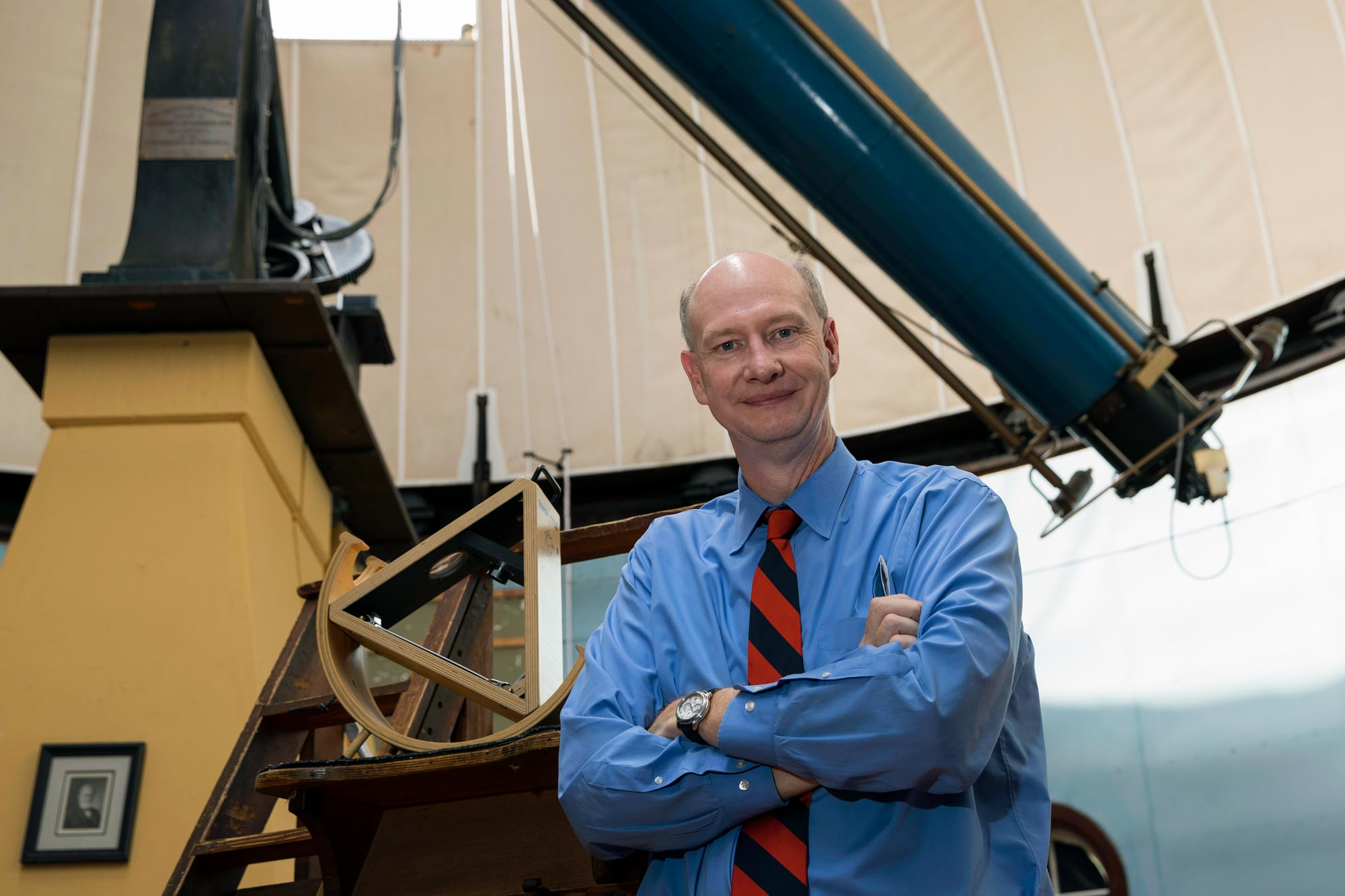 UVA astronomer Ed Murphy said the space station will appear like a particularly bright star moving slowly upward across the sky.