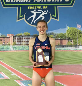 Meyer with her hard-earned trophy. (Contributed photo)