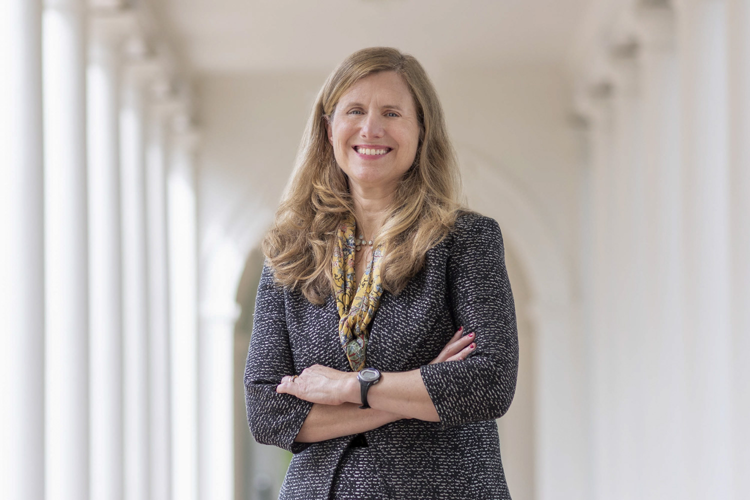 """M. Elizabeth """"Liz"""" Magill previously served on the faculty at UVA's School of Law, and joins UVA from Stanford University."""