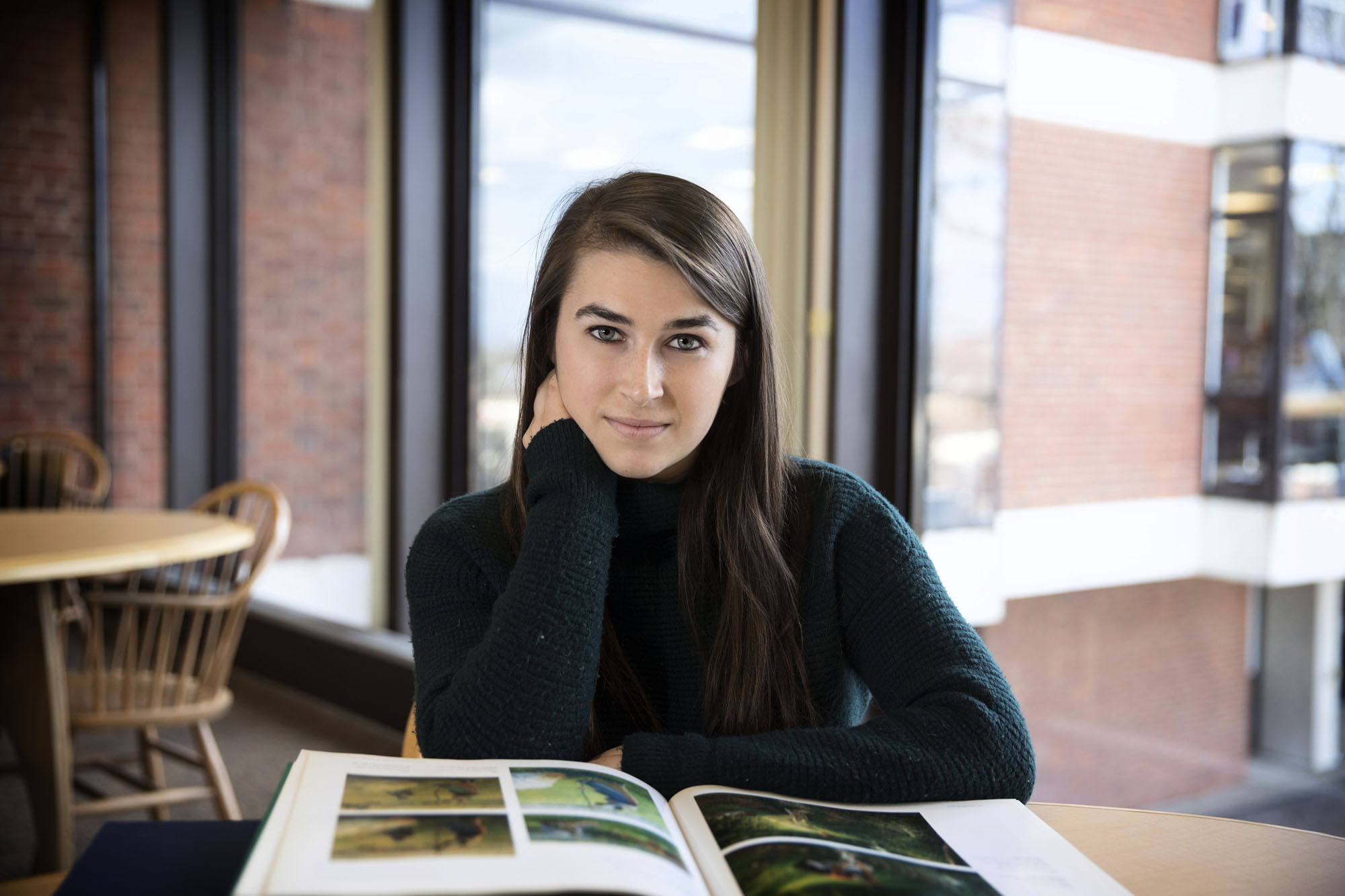 Emily Cox used her undergraduate research award to study Camille Pissarro's art.