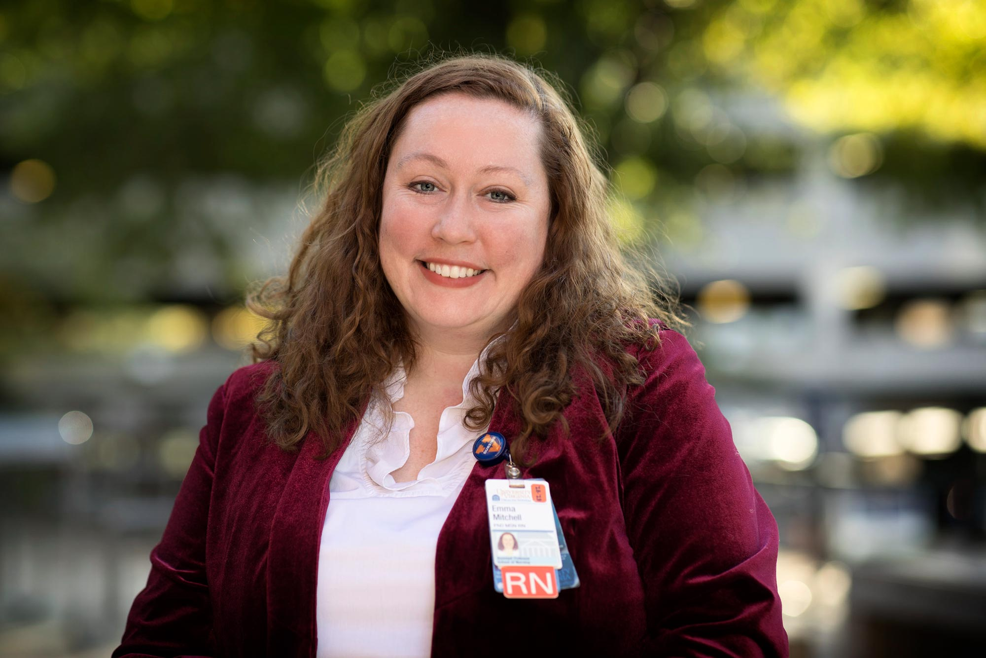 Emma Mitchell, an assistant professor of nursing, studied the effectiveness of combining peer health navigators with inexpensive self-testing kits in detecting and treating HPV.