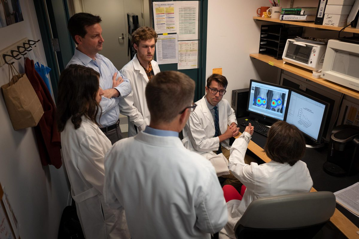 Matthew Lazzara, colleagues in his lab and at the universities of Pennsylvania and Delaware are seeking a better way to treat pancreatic cancer following the award of a $2.34 million grant from the National Cancer Institute. (
