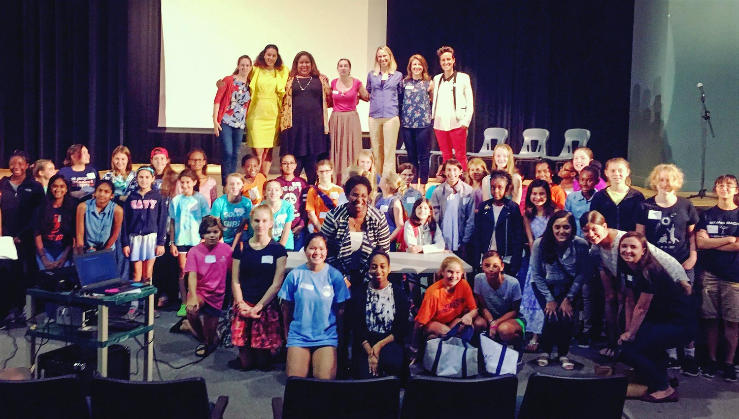 More than 150 girls joined local leaders to learn about careers in science, engineering, technology, entrepreneurship and more.