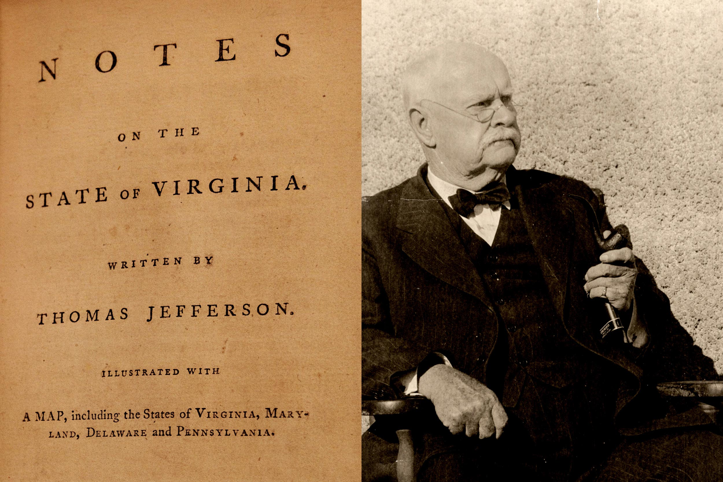 Notes on the State of Virginia, Written by Thomas Jefferson. Illustrated with a map, including the States of Virginia, Maryland, Delaware and Pennsylvania.
