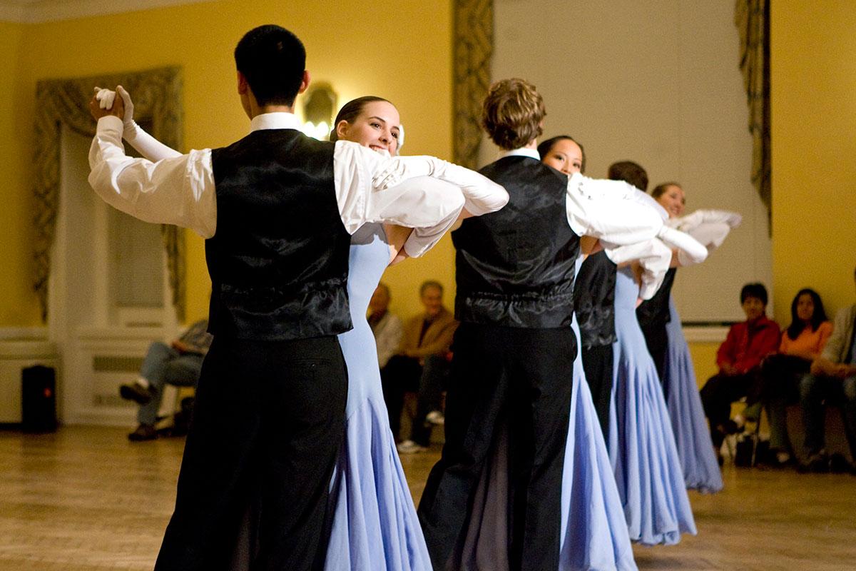 Funding also went to UVA's Ballroom Dance Club.