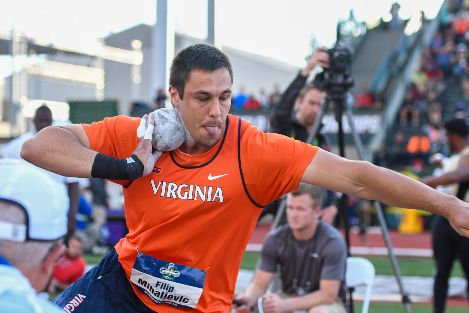 """He's not even close to being where he's going to be,"" UVA track coach Bryan Fetzer said. ""He has the capability of being one of the best throwers in the history of the world."""