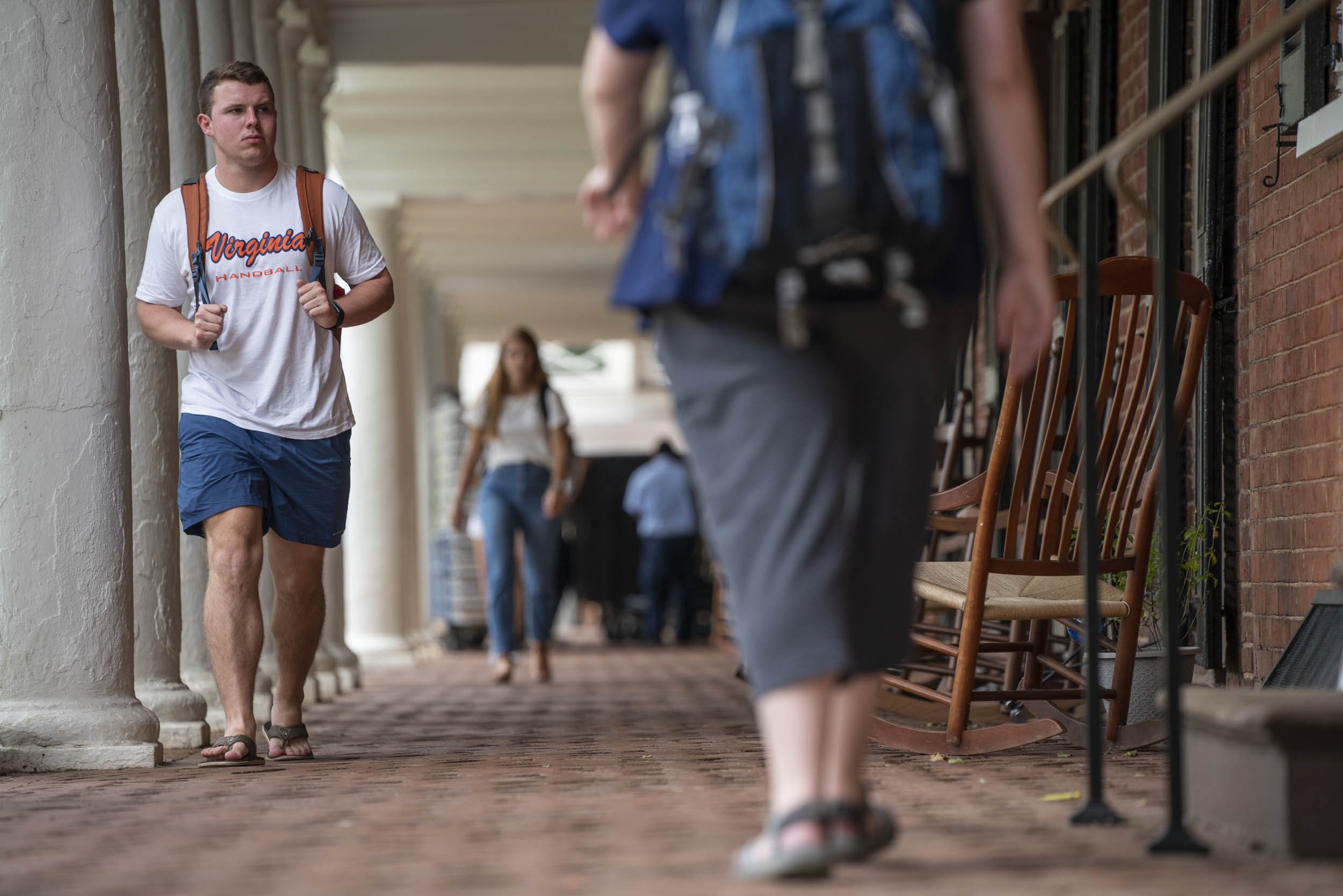 Photos: Happy First Day of Class, UVA!
