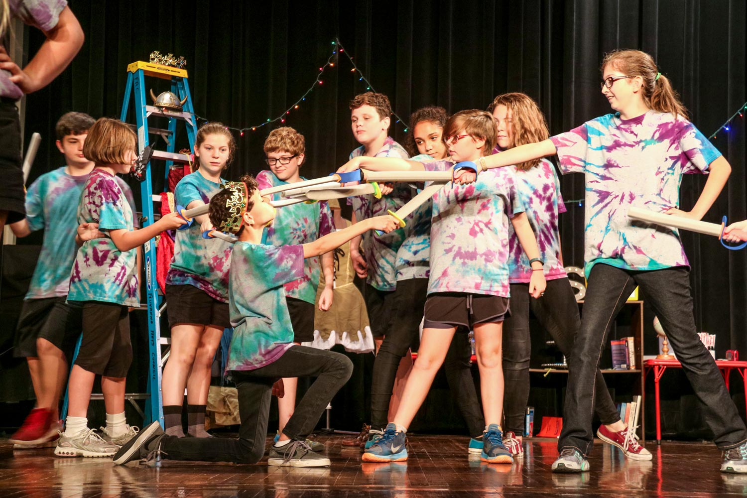 Harris has spent her summer running theater camps for elementary and middle school students in Fluvanna County.