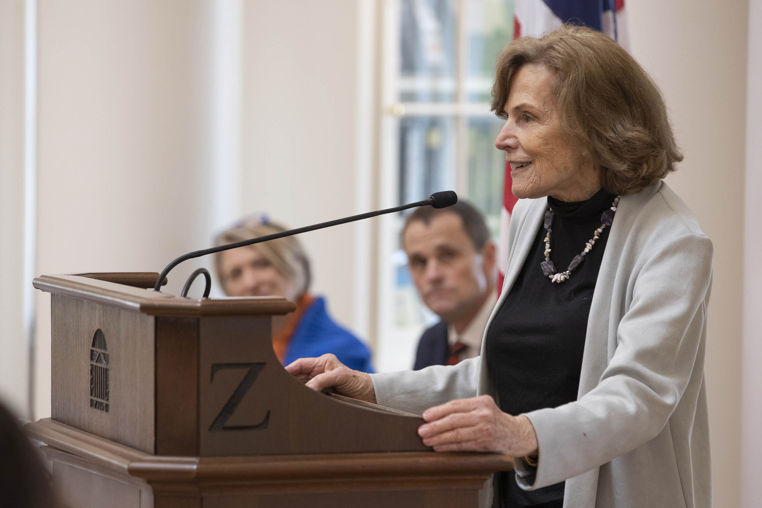 Sylvia Earle accepted the medal during a lunch at the Rotunda Dome Room on Friday.