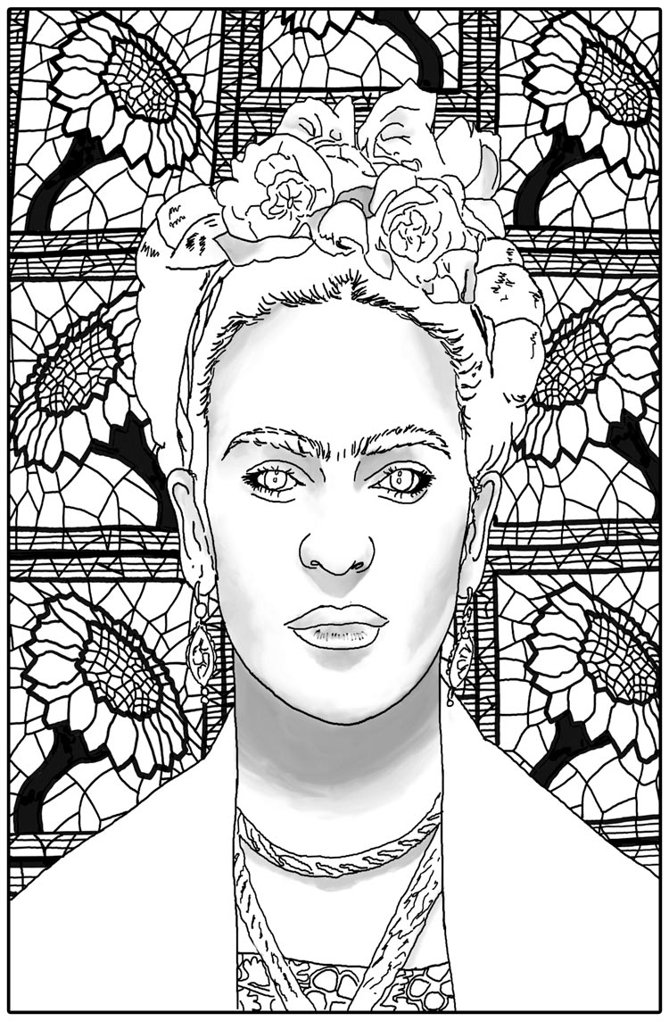 Click the image above to download one of Njoku's drawings.