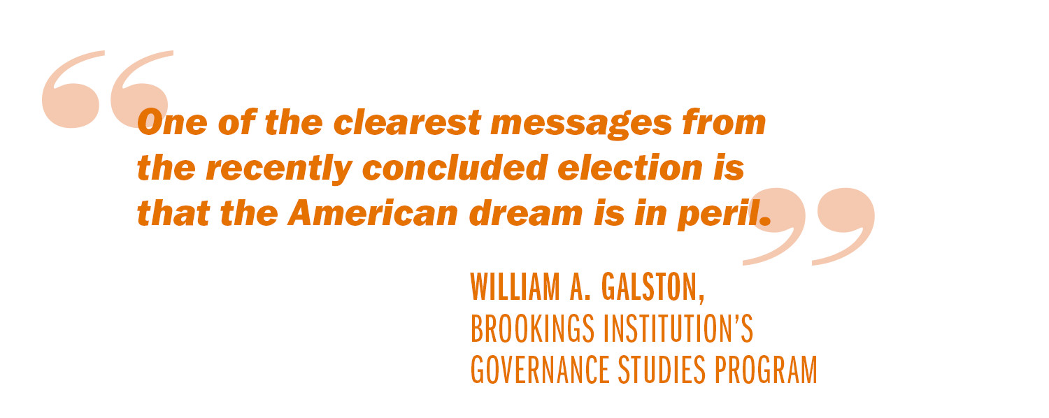 The American Dream Quotes Advice To A New President Reviving The American Dream  Uva Today