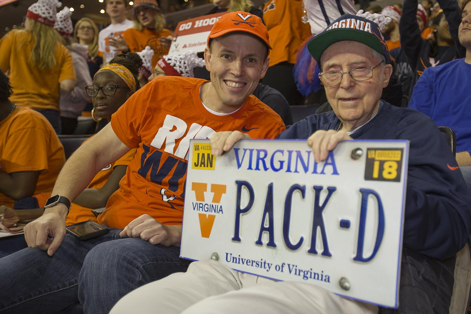 """Sign reading: """"Pack D"""""""