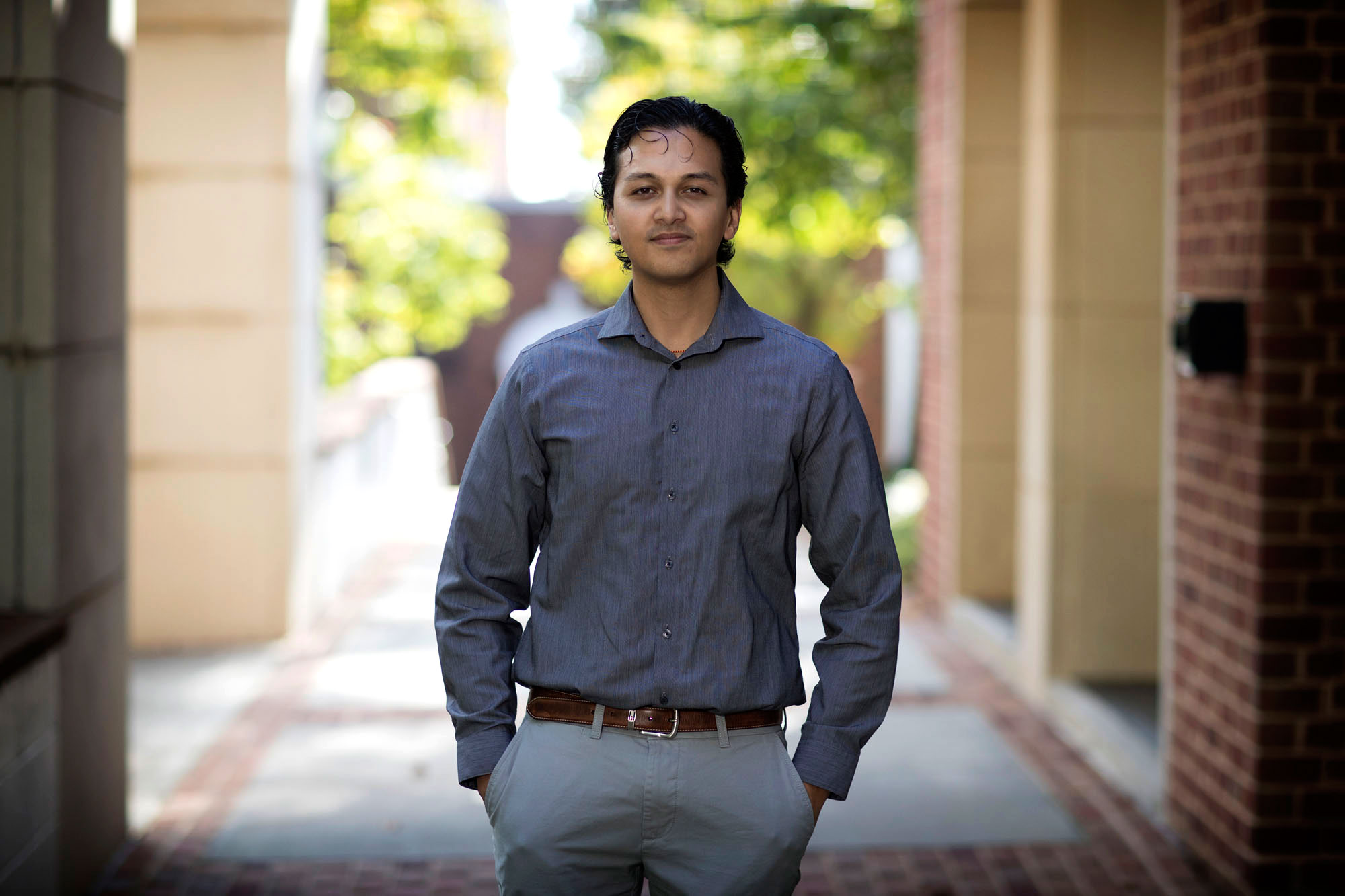 Giri is researching new organic crystals for use in pharmaceuticals, metal organic frameworks and organic electronics.