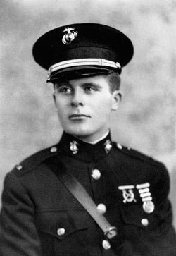Gaver in uniform. He was a second lieutenant in the U.S. Marine Corps at the time of his death. (Contributed photo)