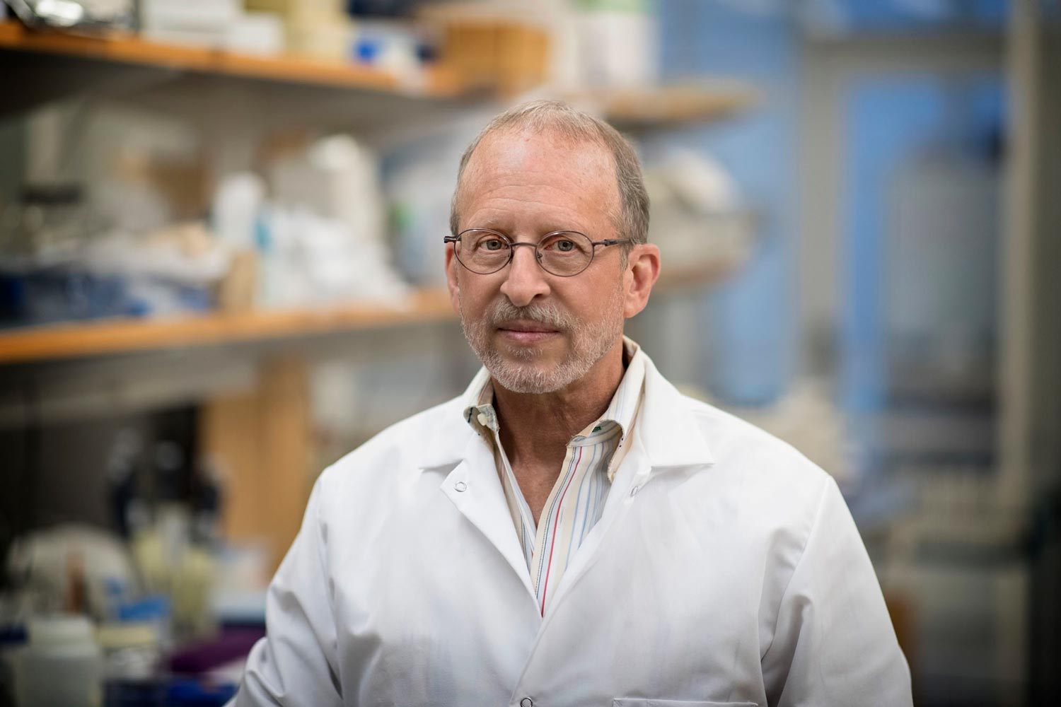 George Bloom's lab specializes in understanding the biochemical changes that lead to Alzheimer's disease.