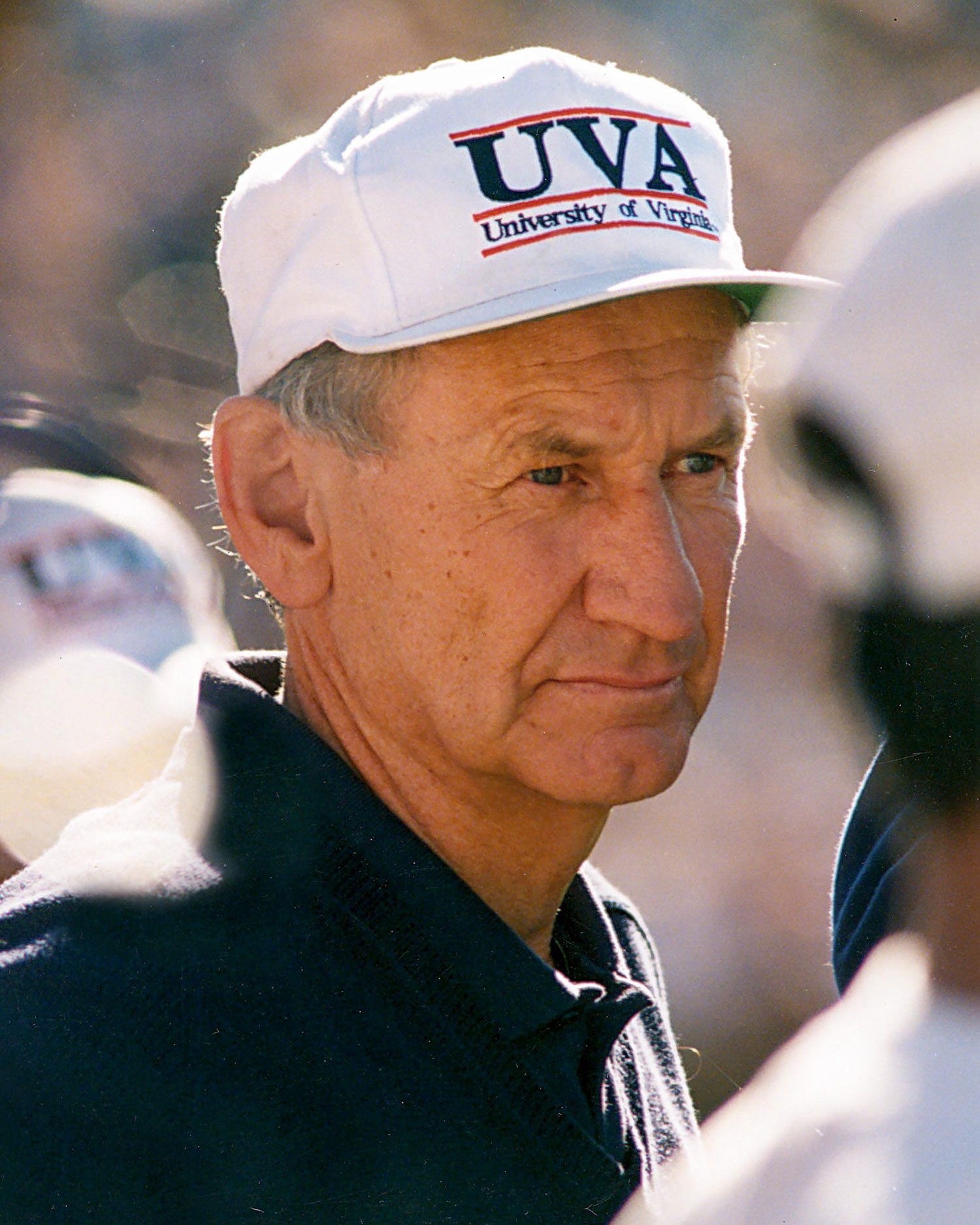 George Welsh in 1982, shortly after beginning his tenure at UVA.