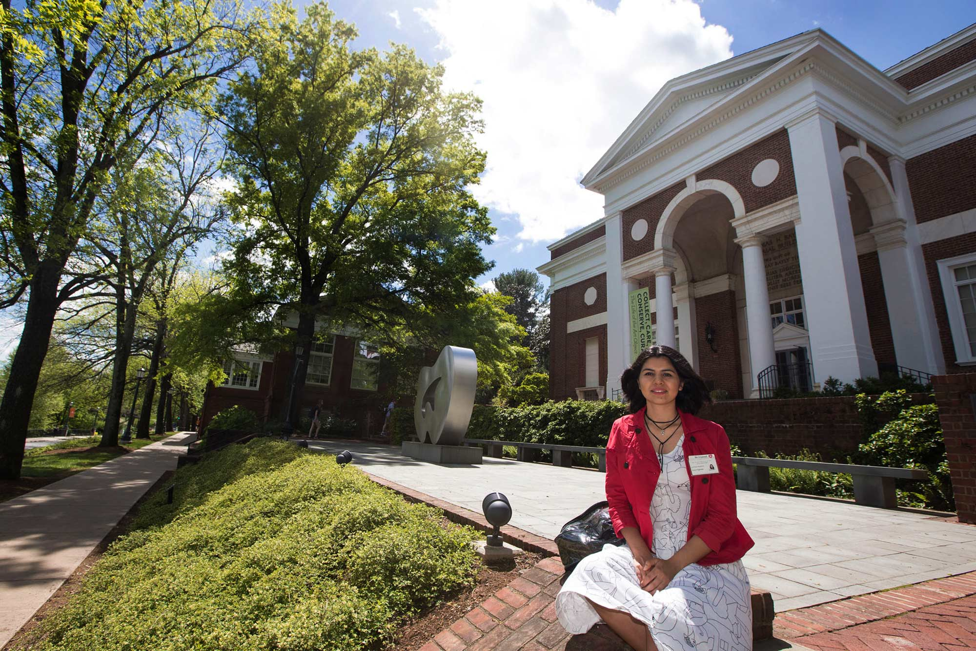 When she transferred at UVA, Haghtalab began working at The Fralin Museum of Art, an institution that she said became a second home for her on Grounds.