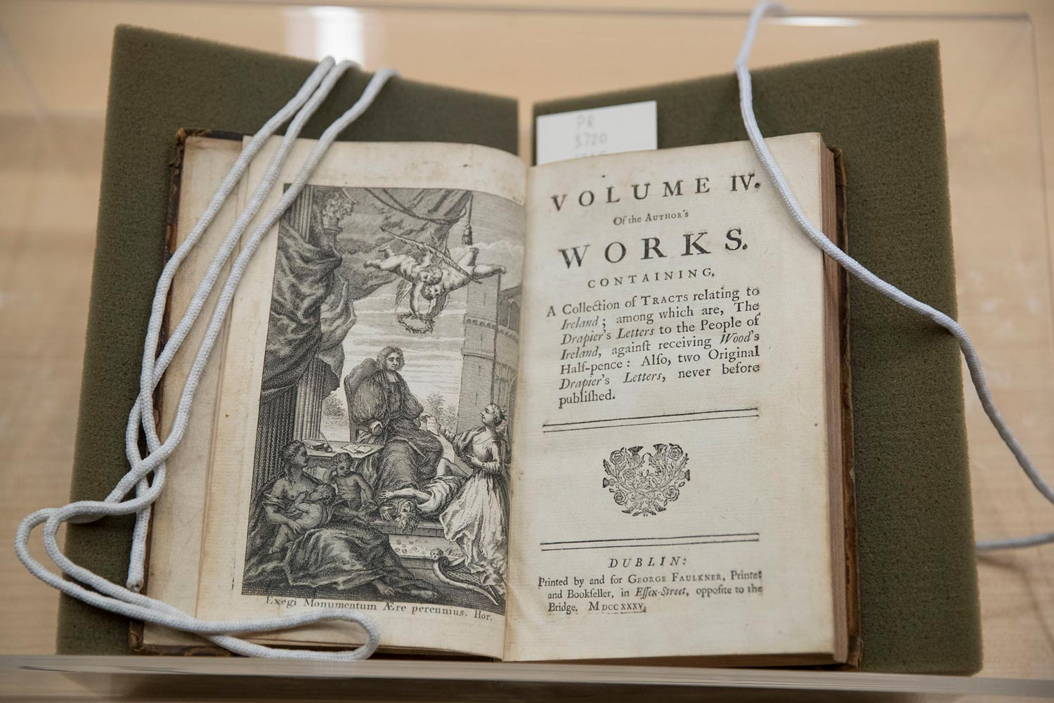 "For classics like ""Gulliver's Travels,"" many editions have been published, but it's not clear where online copies came from. This is the first Dublin edition, published in 1735."