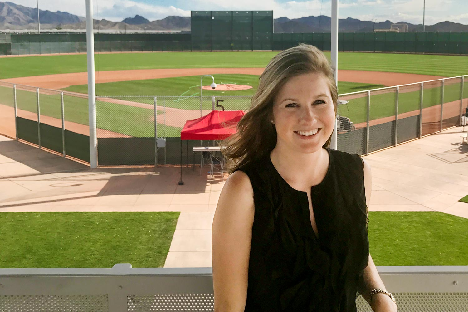 Haley Alvarez, a scouting coordinator for the Oakland Athletics, got her start in baseball analytics while a student at UVA.