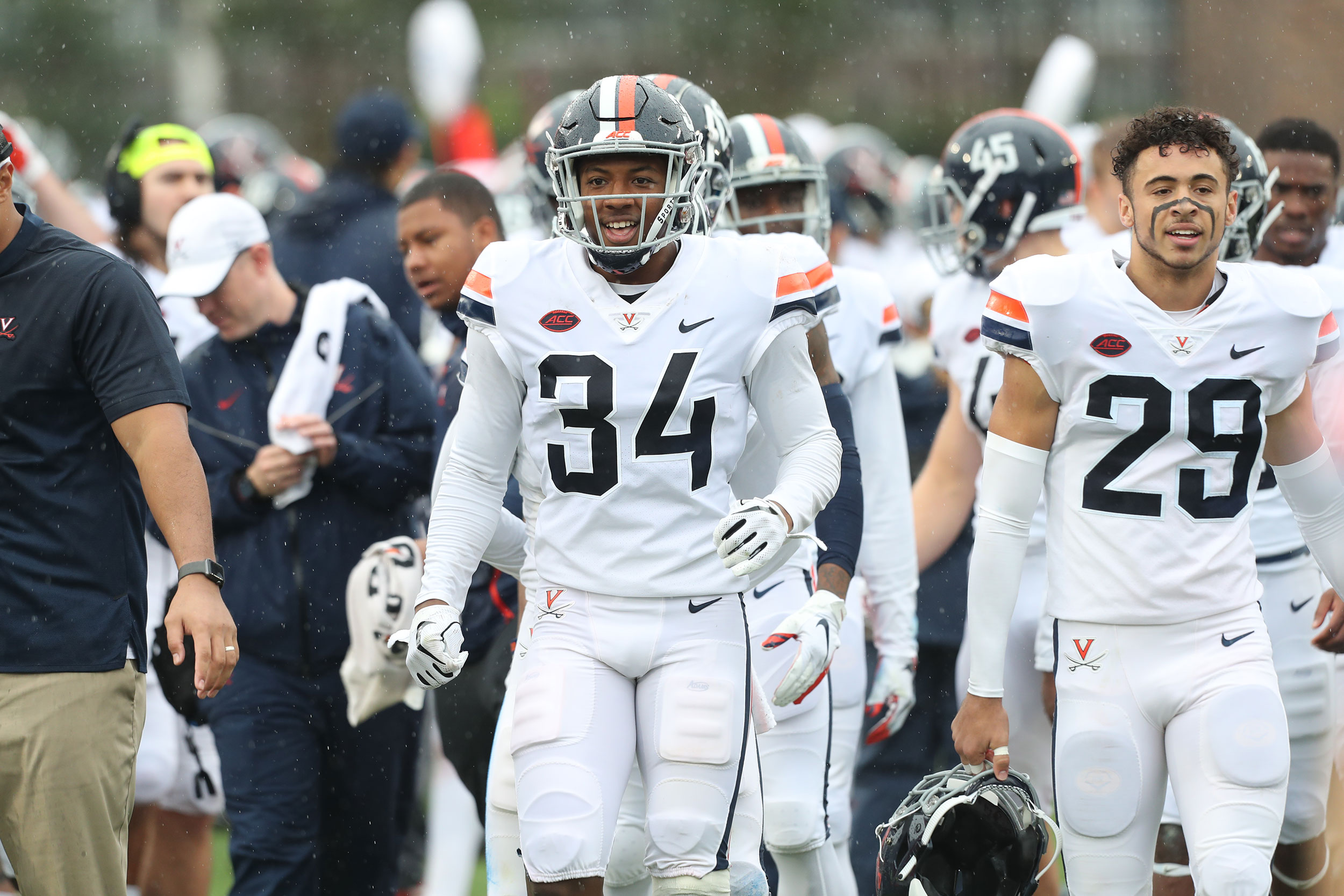 Cornerback Bryce Hall has been playing UVA football since 2016.