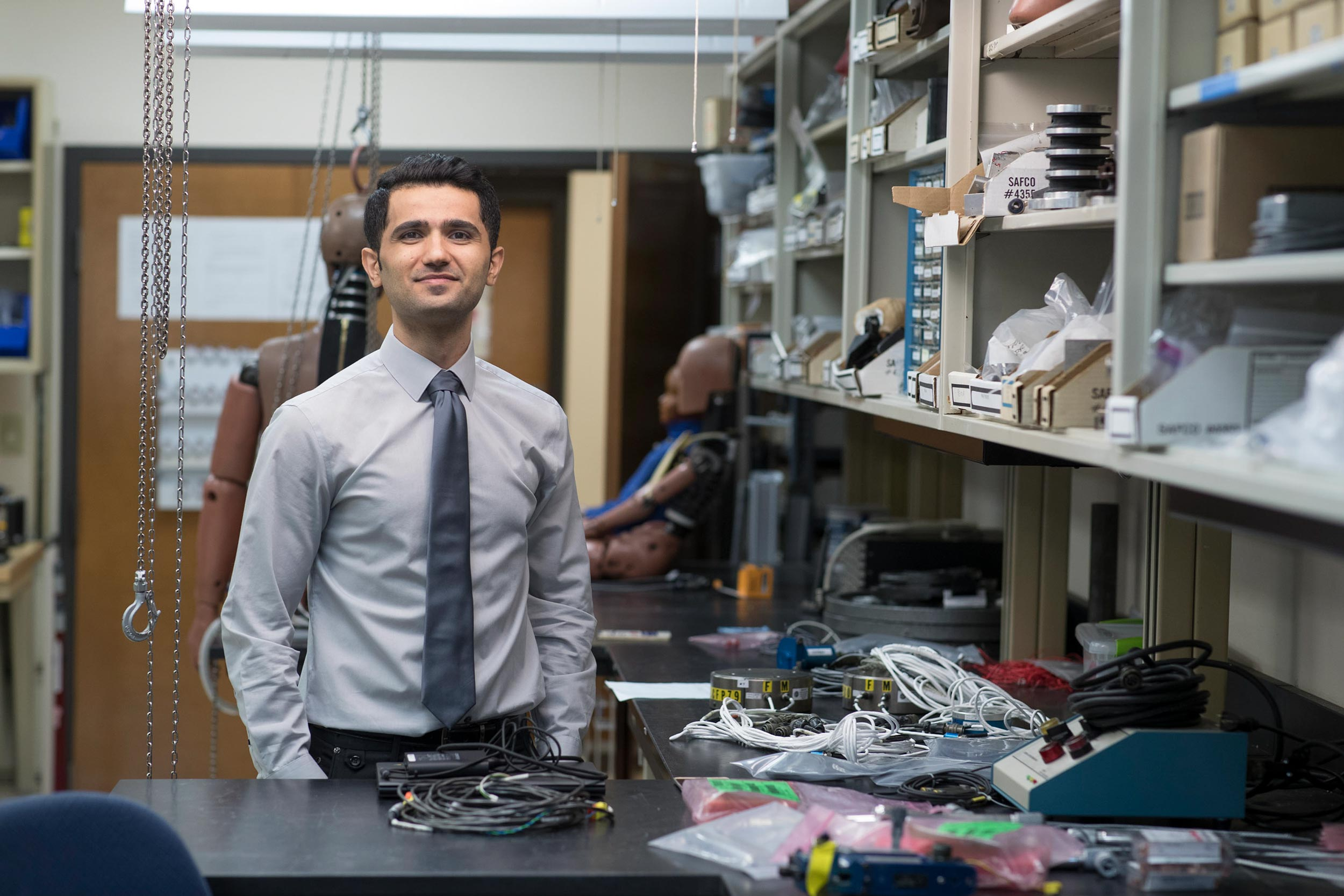 Hamed Joodaki expects to complete his Ph.D. project by the end of this year.