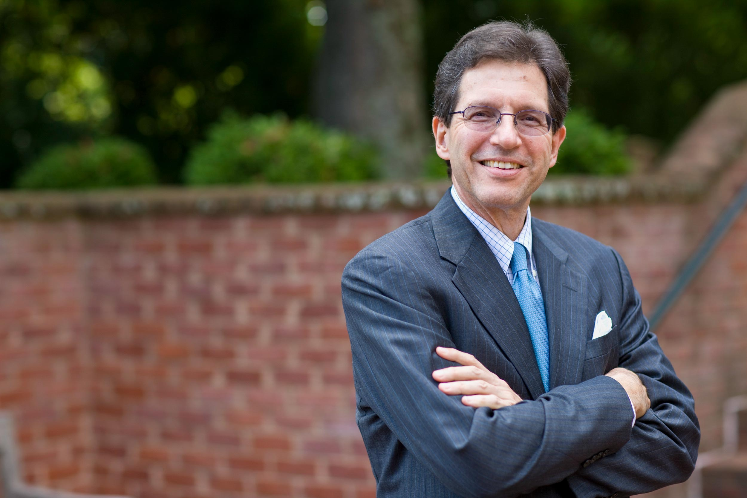 Harry Harding specializes in Asia and U.S.-Asia relations. In addition to his appointment in the Batten School, he is a senior fellow at UVA's Miller Center. (Photo by Dan Addison, University Communications)