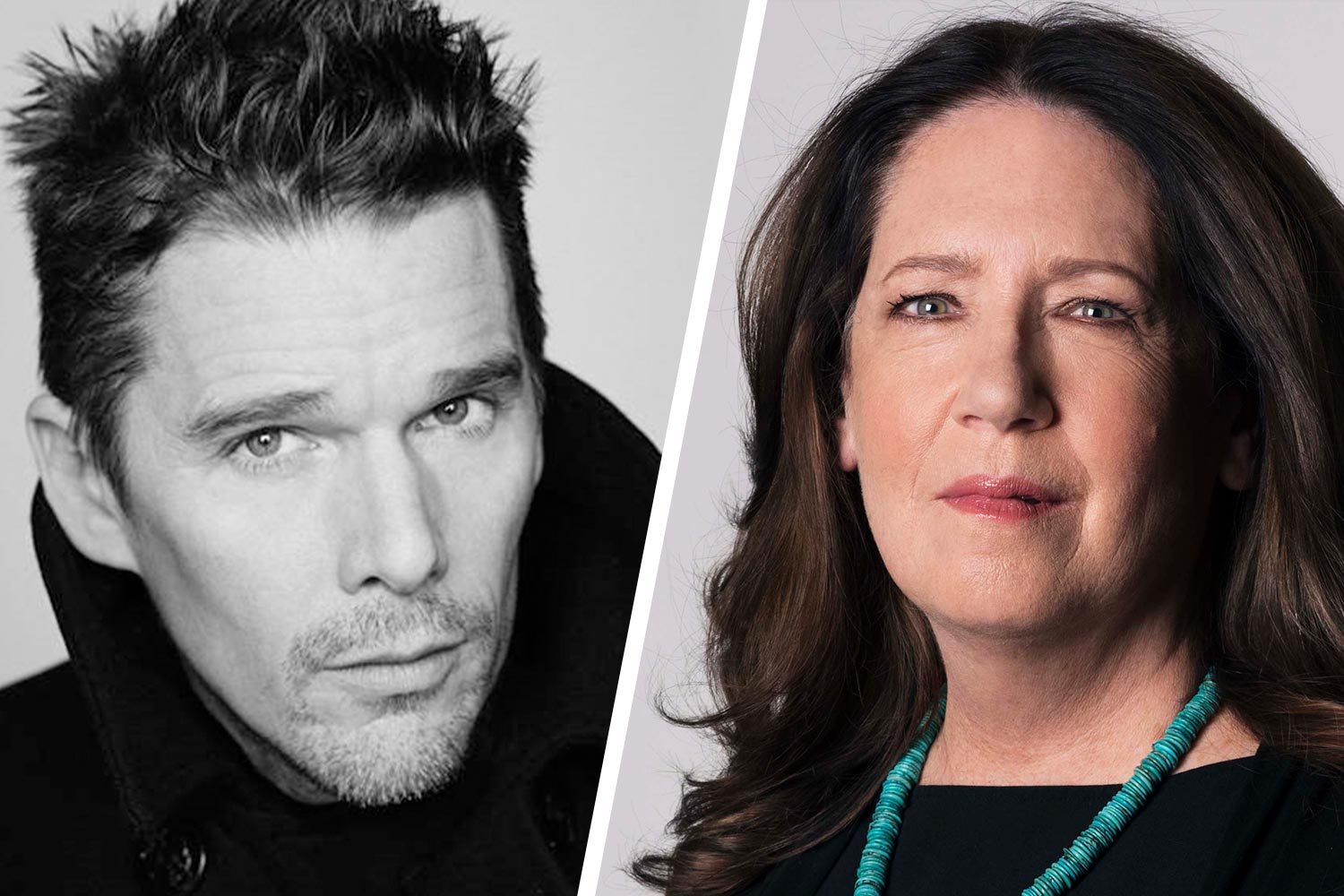 Ethan Hawke, left, and Ann Dowd are among the special guests. (Photos courtesy Virginia Film Festival)