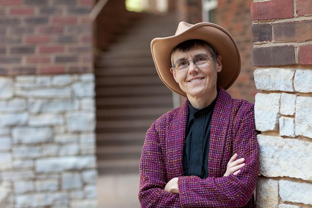 Heather Warren, an associate professor of religious studies, is a minister at St. Paul's Episcopal Church adjacent to Grounds.
