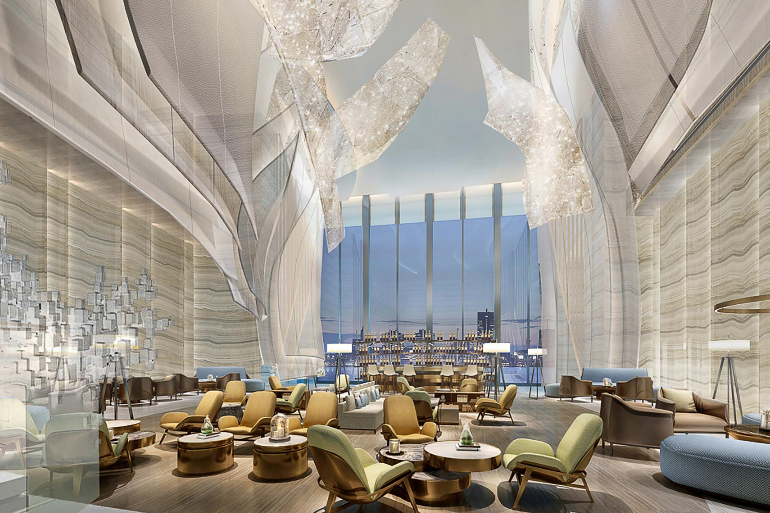 The Hilton Quanzhou Riverside in China. Hilton is experiencing its highest growth rates in the Asia-Pacific region. (Photo courtesy of Hilton)