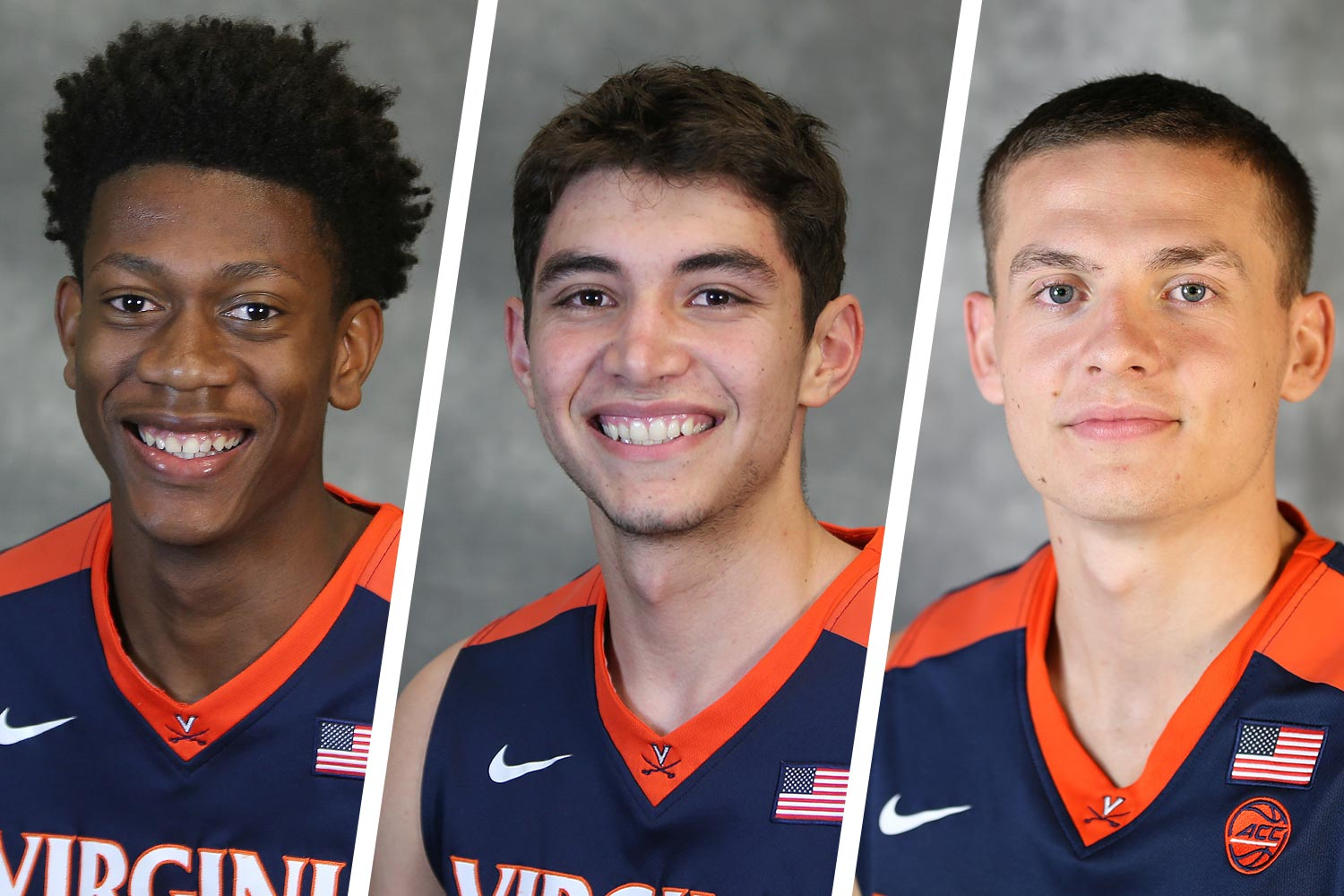 Over two months after leading UVA to a national championship, former Hoos De'Andre Hunter, Ty Jerome and Kyle Guy are taking the next step in their basketball journeys.