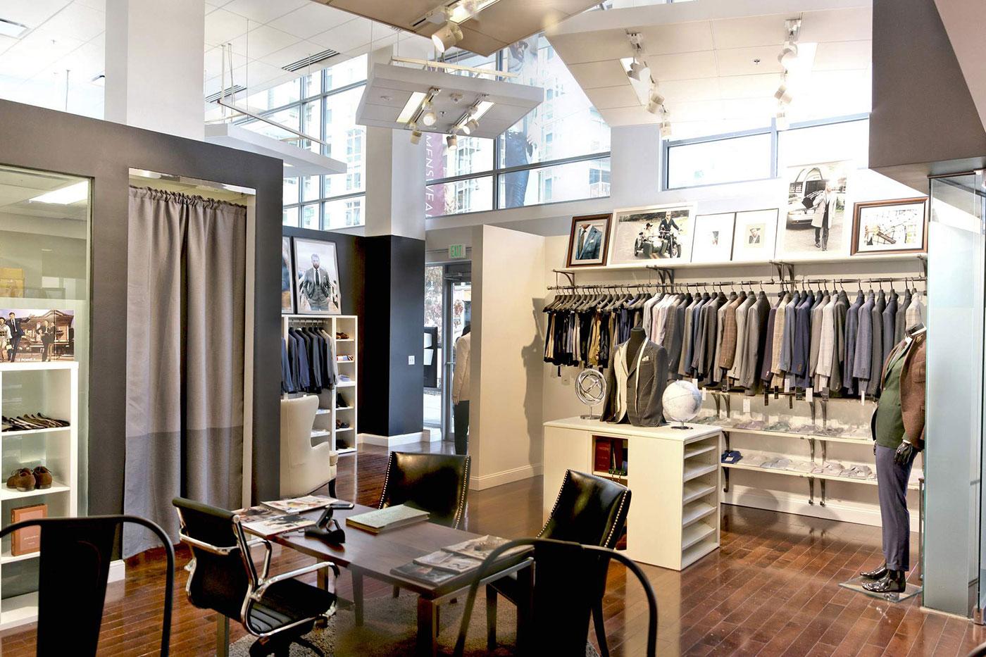 Knot Standard's showroom in Washington, D.C.