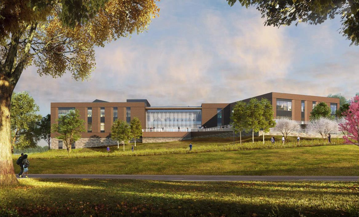 UVA's Ivy Mountain Musculoskeletal Center is scheduled to open in February 2022.