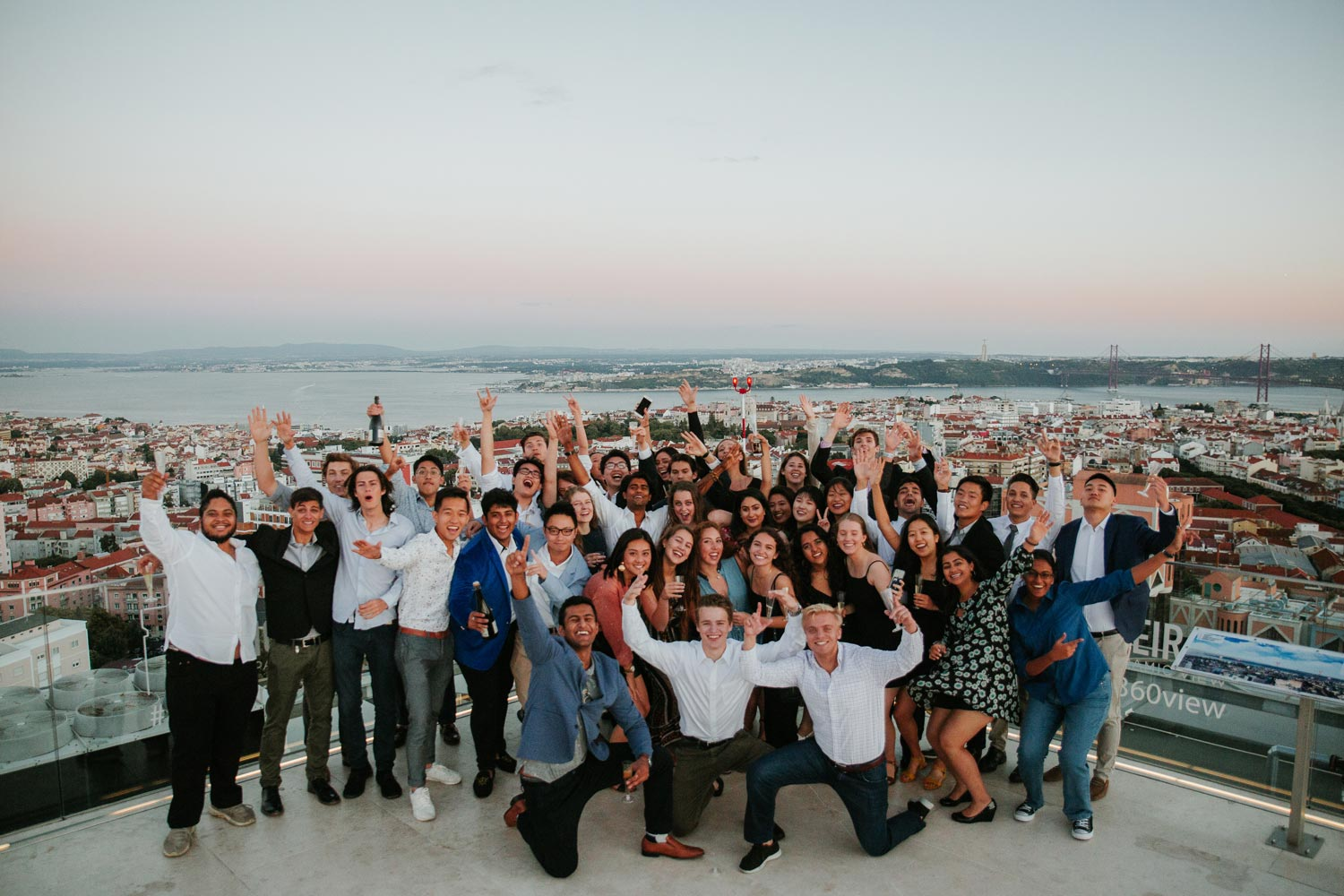 "Students in the ""iX Accelerate"" program may get to experience a view like this one, in Lisbon."