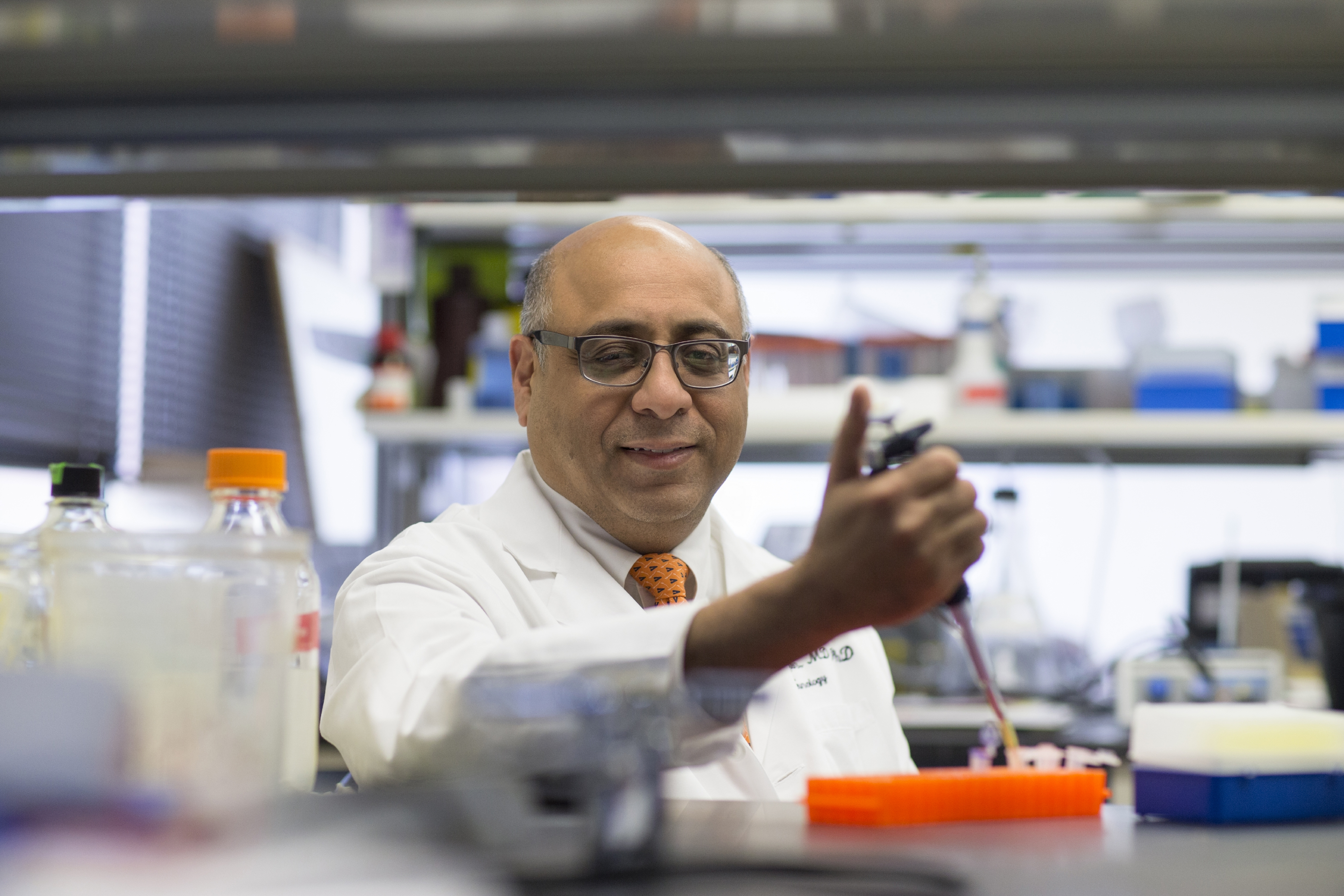 Dr. Jaideep Kapur, Eugene Meyer III Professor of Neuroscience and Neurology and a leading researcher and physician in the area of epilepsy, will direct the UVA Brain Institute.