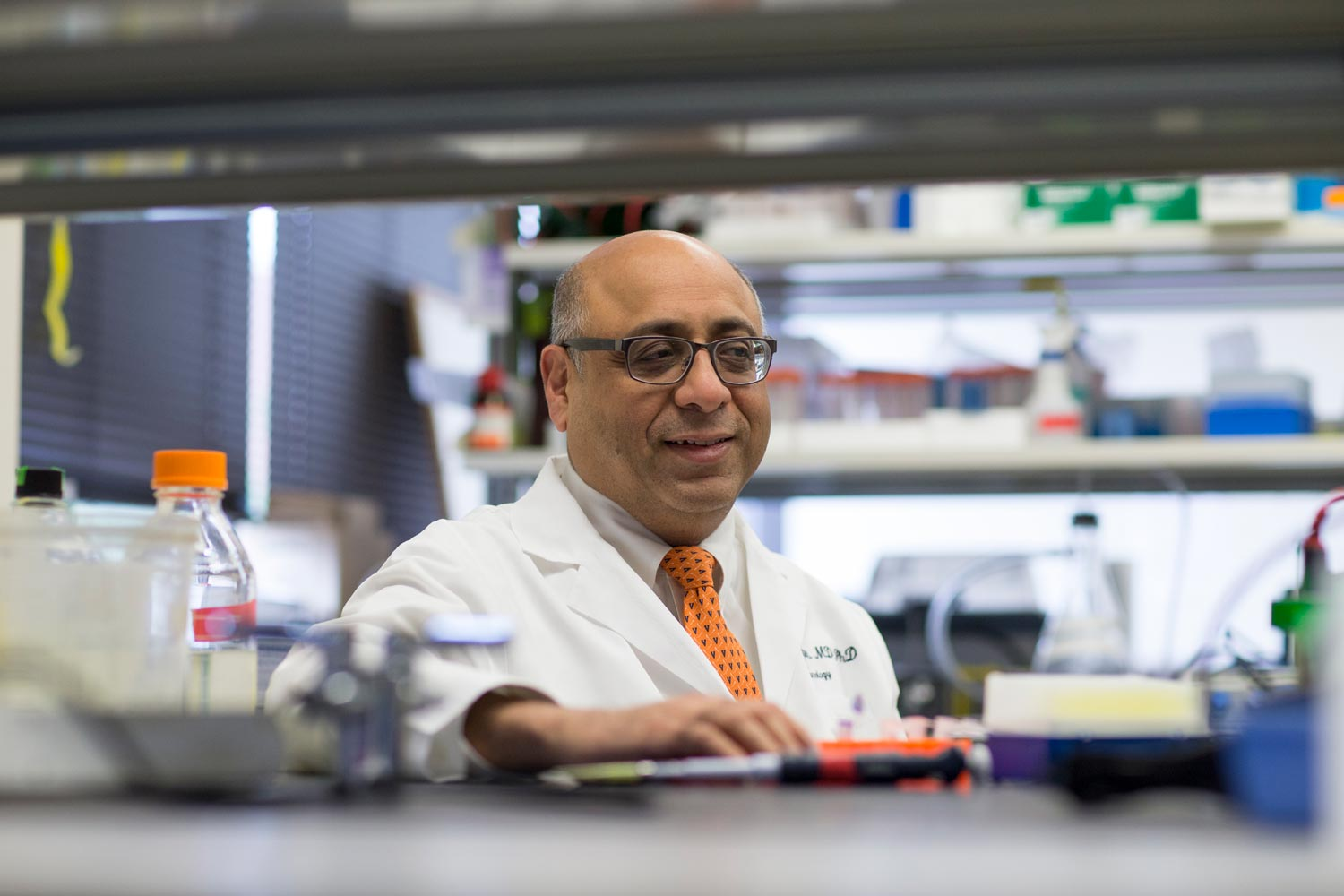 Dr. Jaideep Kapur directs UVA's multi-disciplinary Brain Institute.