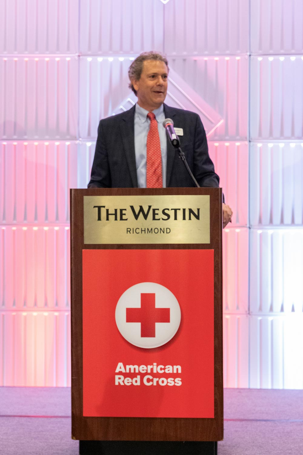 James Hatcher, a UVA alumnus, has worked at American Red Cross since 2016. (Contributed photo)