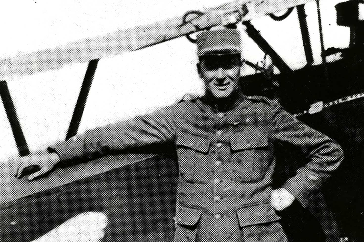 James McConnell, who flew for France, was the last American pilot to be killed in World War I before the U.S. joined the fighting. (Photo courtesy of UVA Library)