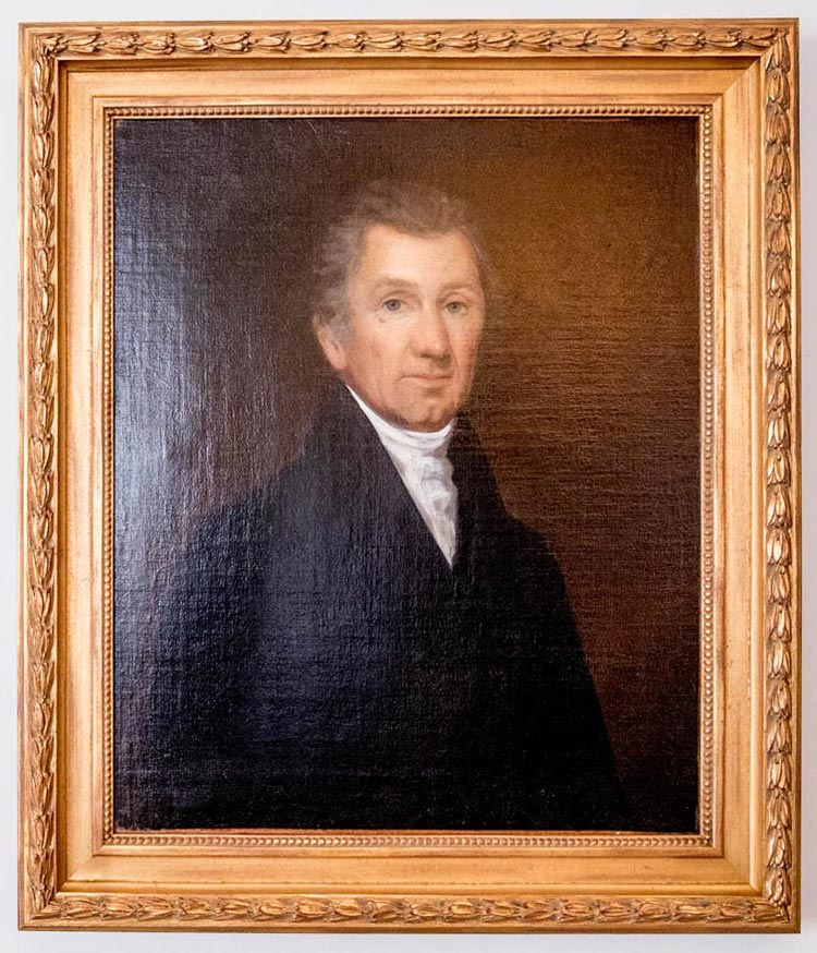 Painting of James Monroe