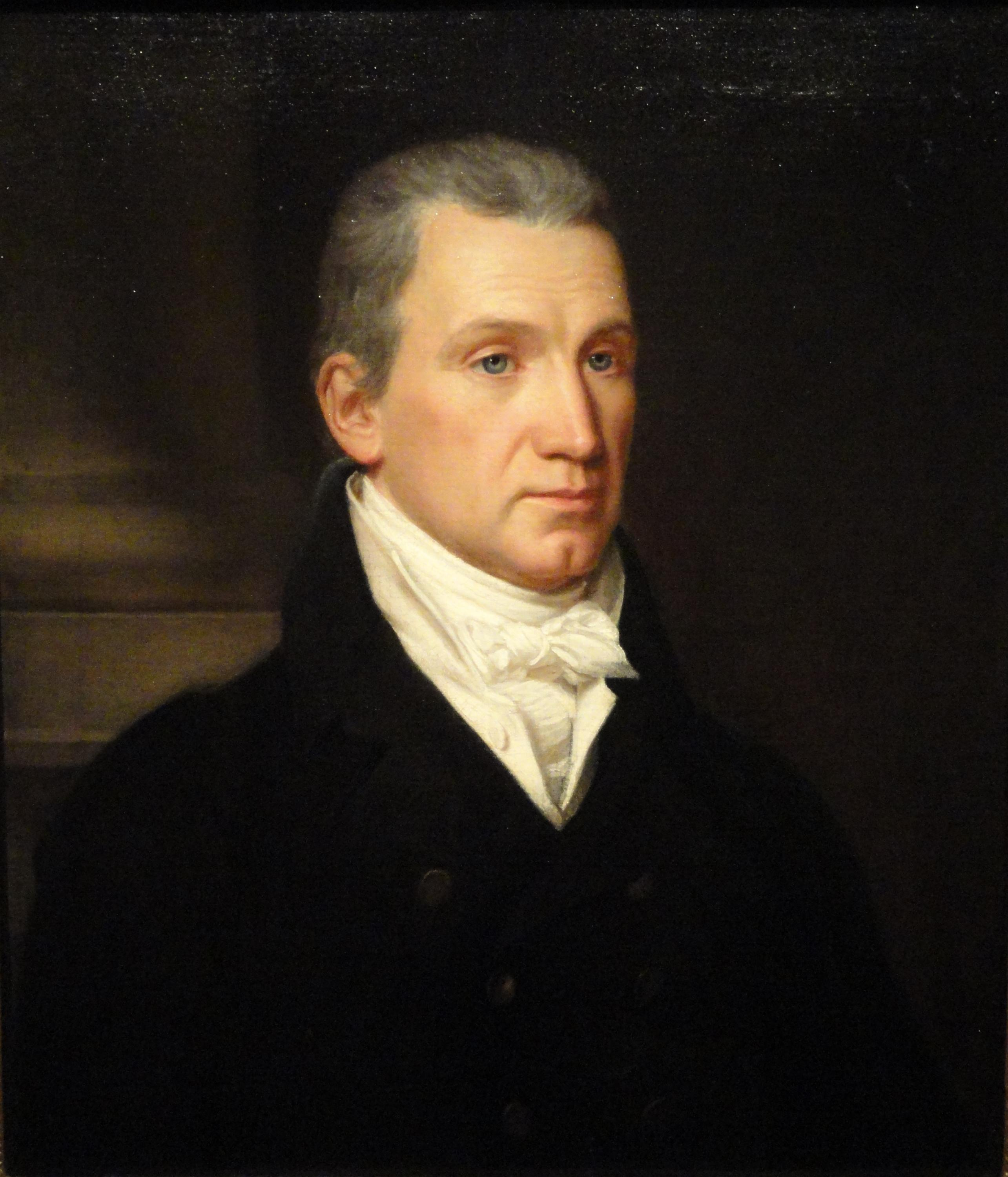James Monroe, circa 1816 by John Vanderlyn.