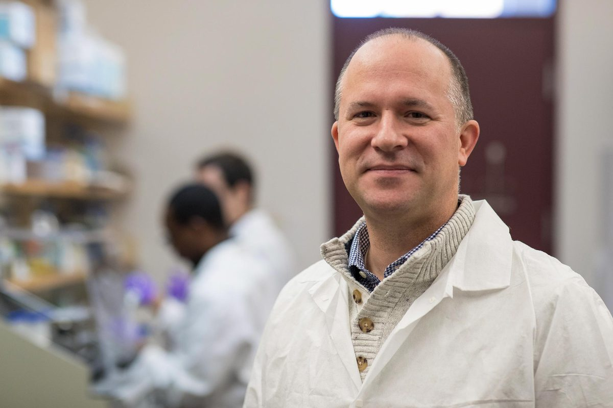 Jason Papin is a biomedical engineering professor and serves on the pan-University Global Infectious Diseases Institute.