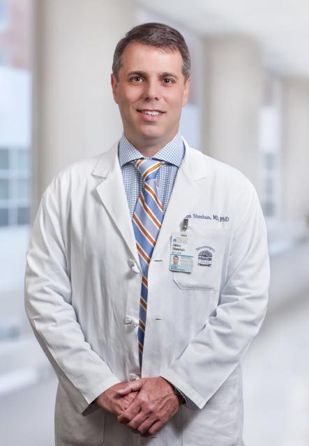 "UVA neurosurgeon Dr. Jason Sheehan said that focused ultrasound ""has the potential to improve outcomes for patients with complex brain tumors and other neurosurgical pathologies."" (Contributed photo)"