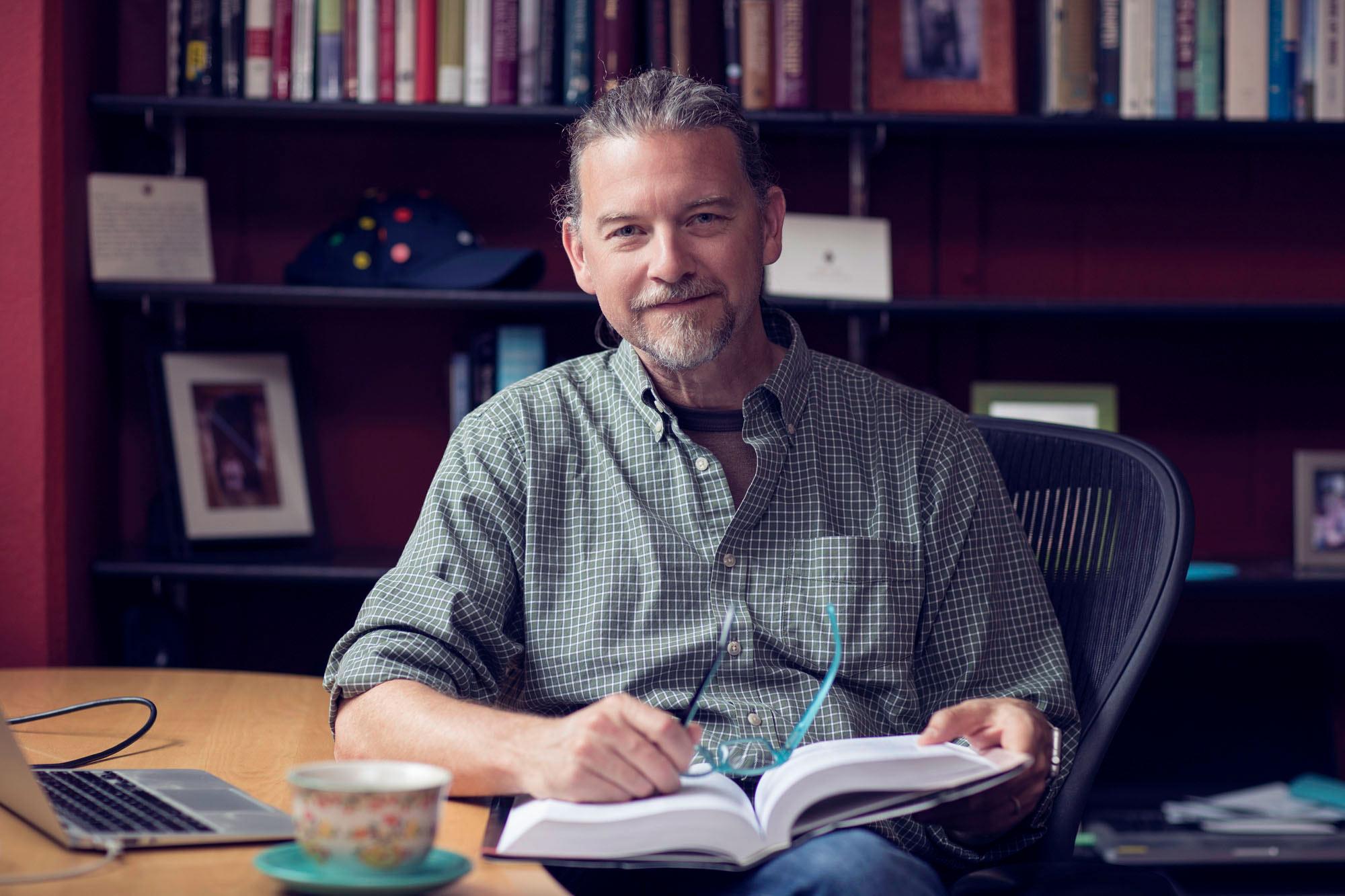 Psychology professor James Coan leads UVA's Virginia Affective Neuroscience Laboratory.