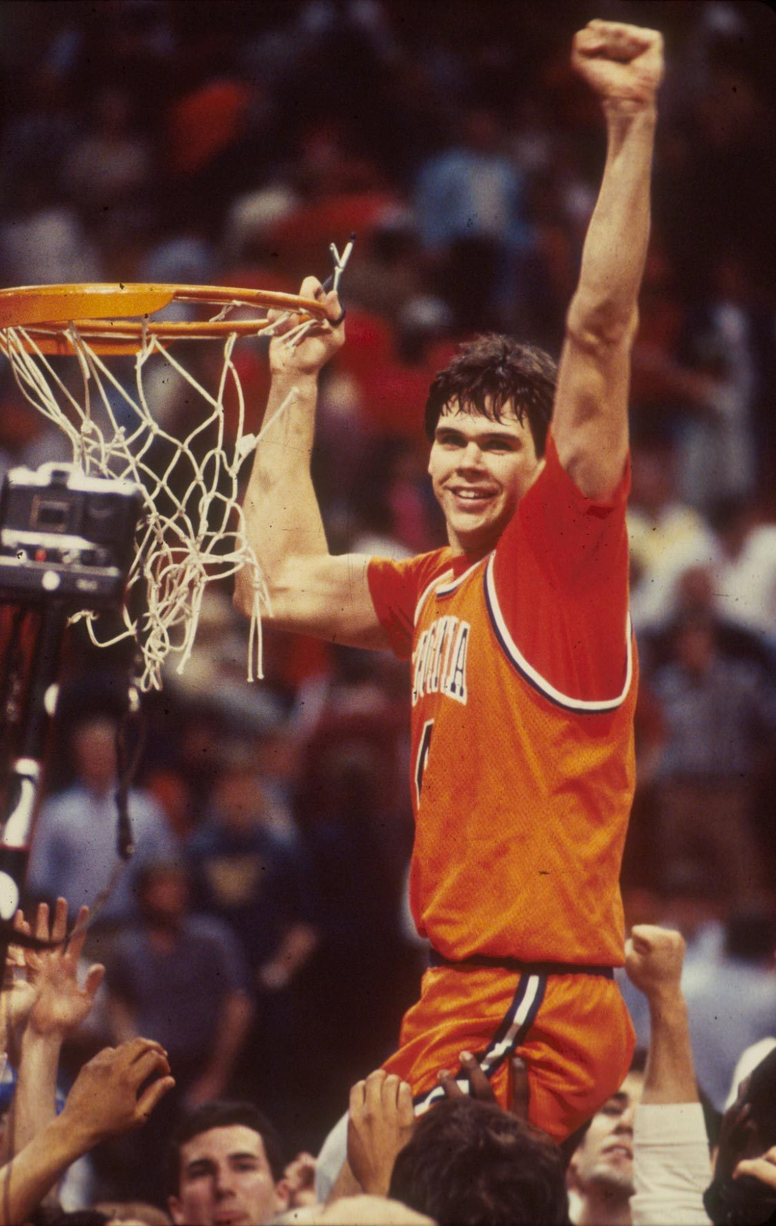 Miller was the East Region MVP during UVA's surprising run to the 1984 Final Four.