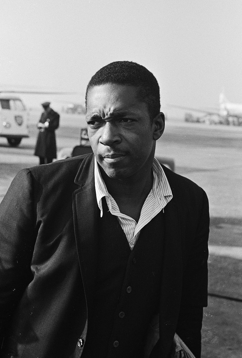 John Coltrane in 1963 (Dutch National Archives/Creative Commons)
