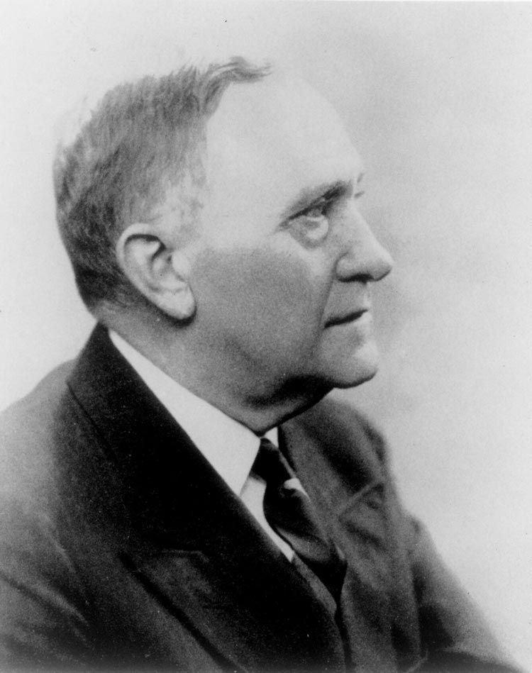 When Alderman died in 1931, John L. Newcomb, then dean of the School of Engineering, was made acting president. The Board of Visitors elected him president in 1933.
